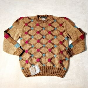 Vintage Pure New Wool Men's Sweater
